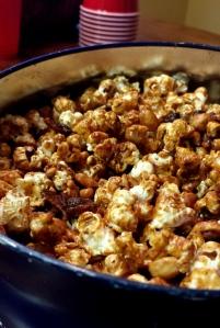 Just a little Bacon Caramel Popcorn
